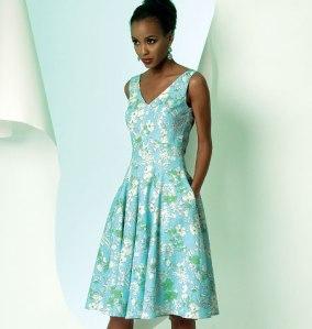 V8997_dress Vogue Patterns Summer 2014 collection