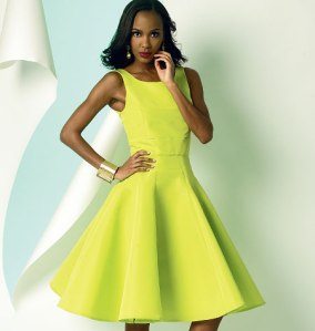 V8998_dress Vogue Patterns Summer 2014 collection