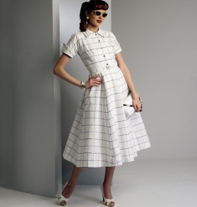 V9000_dress_vintage Vogue Patterns Summer 2014 collection
