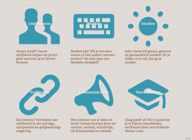 NetJeWerk activities netwerken, meetings, work, connect, communicate, develope, all for women