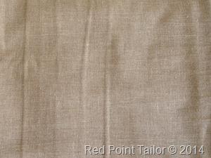 Linen blad for skirt, dress - Red Point Tailor courure atelier