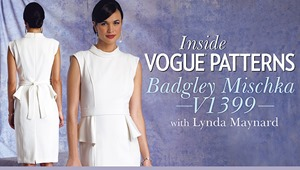 Inside Vogue PatternsV1399