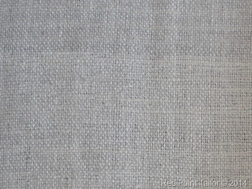 the light grey silk fabric
