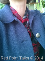 Me-Made-May 2014 - knitted top, jacket made by Red point Tailor
