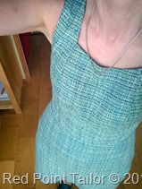 Me-Made-May 2014 - couture dress made by Red Point Tailor