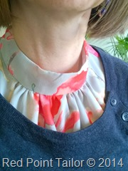 Me-Made-May 2014  - wearing Marfy top made by Red Point Tailor