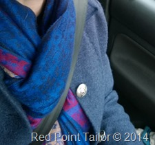 Me-Made-May 2014 - jacket, skirt, top made by Red Point Tailor