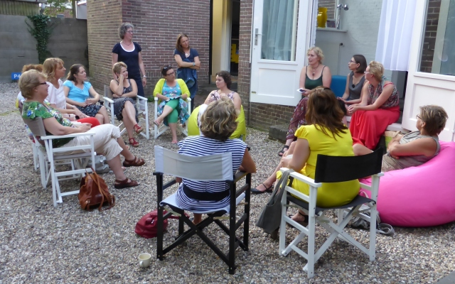 Creative evening meeting by NetJEwerk - pictures by Via Mathijssen
