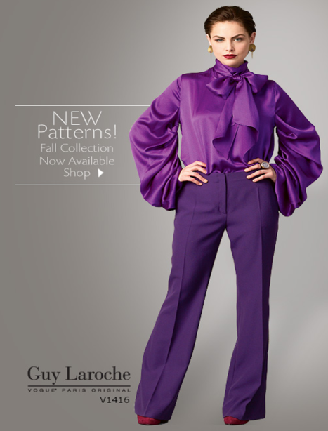 Vogue Patterns Fall 2014 Collection