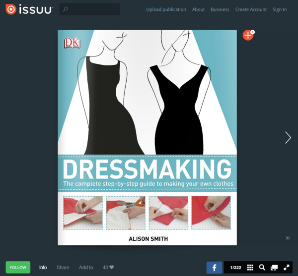Dressmaking by Alison Smith on ISSUU