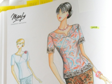 Marfy Pattern Top 3408