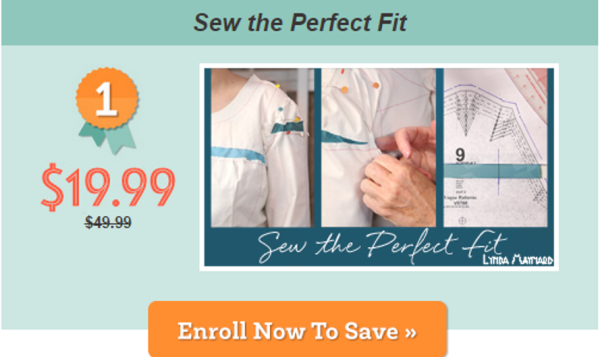 Sew the Perfect Fit Craftsy Class