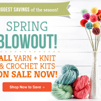 Earn Big with Craftsy's Yarn Blowout Sale