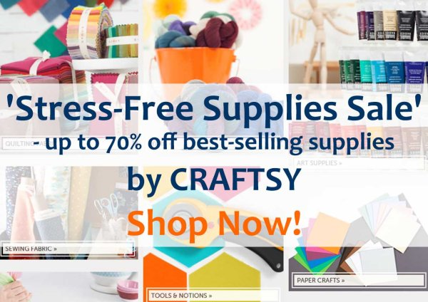 Craftsy, supplies, sale, supplies sale, sewing supplies, craft supplies, sewcialists, sewcialist