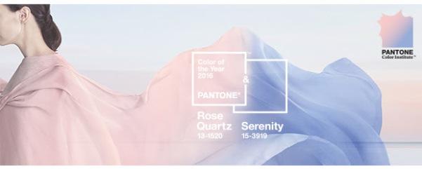 pantone, colour of 2016, ROSE QUARTZ , SERENITY
