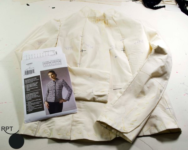 French Jacket, jacket, couture, sewcialists, handmade, sewing