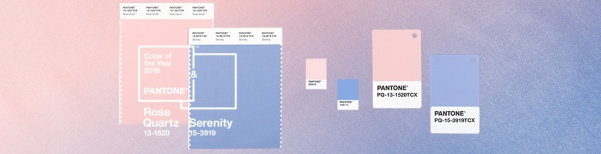 Pantone, colous of the year, colour of the year 2016, Rose Quartz, Serenity